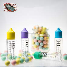 HD-HiDy-3 PET unicorn bottle for e liquid with scale logo printing
